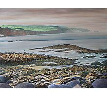 View from Ballycastle,Co Antrim,Northern Ireland. Photographic Print