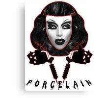 Porcelain - Drag Queen Canvas Print