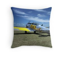 WWII Harvard / Texan  or T-6 Throw Pillow