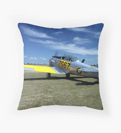 WWII Harvard / Texan  or T-6 Throw Pillow