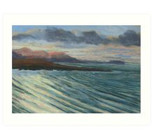 View from Knockamany bends,Co Donegal,Ireland. Art Print