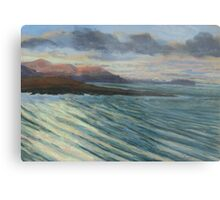 View from Knockamany bends,Co Donegal,Ireland. Metal Print