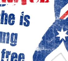 Australians all let us ring joyce! Sticker