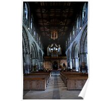 Cathedral Aisle Poster