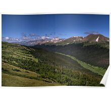 2009 Rocky Mountain National Park Poster