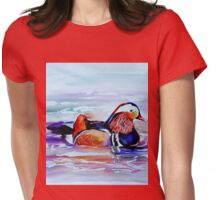 Mandarin Duck Womens Fitted T-Shirt
