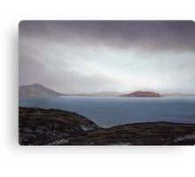 View from Knockamany bends,Co Donegal,Ireland. Canvas Print