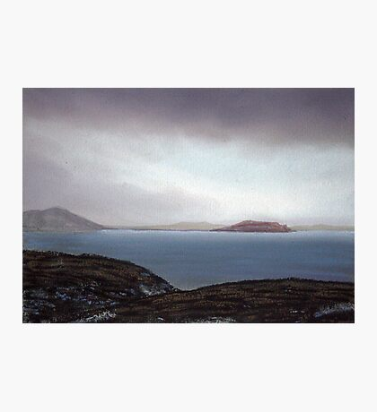 View from Knockamany bends,Co Donegal,Ireland. Photographic Print
