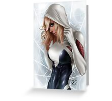 Spider-Gwen - The Guardian Of Day 2 Greeting Card