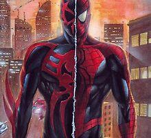 Spiderman 2099 / Spiderman - 2 Legend by Dnx-Drift