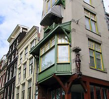 Amsterdam, a colourful city by Hans Bax