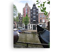 Amsterdam, a beautiful city II Canvas Print