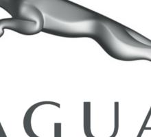 Jaguar Logo Tee Shirt Sticker