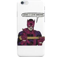 gosh i love arrows iPhone Case/Skin