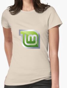 Linux Mint Womens Fitted T-Shirt