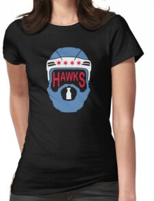 Hawks Flag Womens Fitted T-Shirt