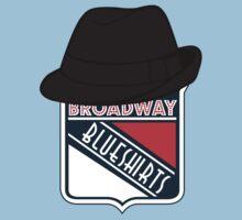 Broadway Blueshirts Baby Tee