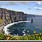 Ireland, Cliffs of Moher, County Clare. by upthebanner