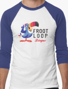 Fruit Loop Dingus Men's Baseball ¾ T-Shirt