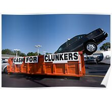 CashForClunkers Poster