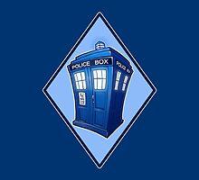 Tiny TARDIS by oriana132