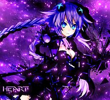 Hyperdimension neptunia Purple Heart by ericau18