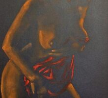 Red - Nude series by dorina costras