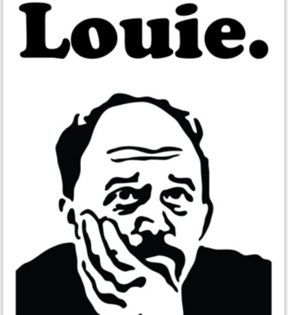 Louie Sticker