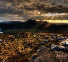 Slievenaglough Mourne Mountain by Leslie Hanthorne