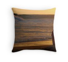 Sunset Patrol Throw Pillow