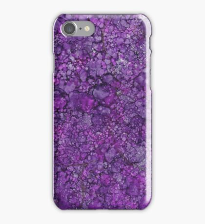 Purple Granite iPhone Case/Skin