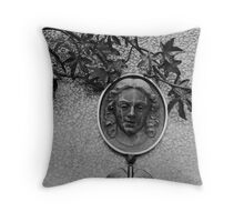 Lady Of Asheville Throw Pillow