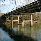 French Broad Bridge by Roger Miller