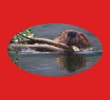 Beaver & Reflection One Piece - Long Sleeve