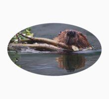 Beaver & Reflection Kids Tee