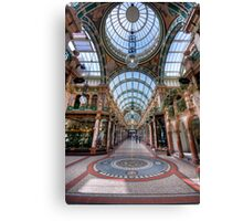 County Arcade, Leeds Canvas Print