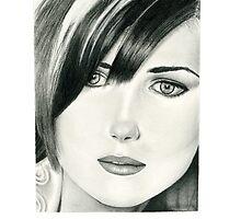 Portrait of a Friend by Nori Bucci