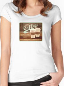 Castle's Coffee Women's Fitted Scoop T-Shirt