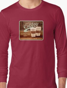 Castle's Coffee Long Sleeve T-Shirt