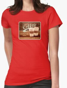 Castle's Coffee Womens Fitted T-Shirt