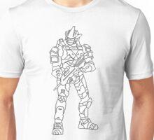 Pixel Art Spartan Halo 3 Unisex T-Shirt