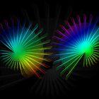 Rainbow Fan by MarianaEwa