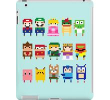 NINTENDO CHARACTERS iPad Case/Skin