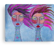 My Girls Canvas Print