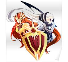 Diana and Leona - League of legends Poster