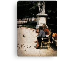 Saturday in the Tuilleries Canvas Print