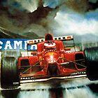 Michael Schumacher in Austria by Rob Mitchell