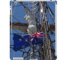 New Zealand ensign aboard ' Spirit of New Zealand ' ........! iPad Case/Skin