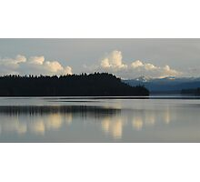 Payette Lake and Council Mountain Photographic Print