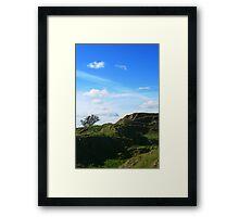 Sky Cley Framed Print
